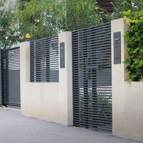 שערים-שער הייטק משולב פסים